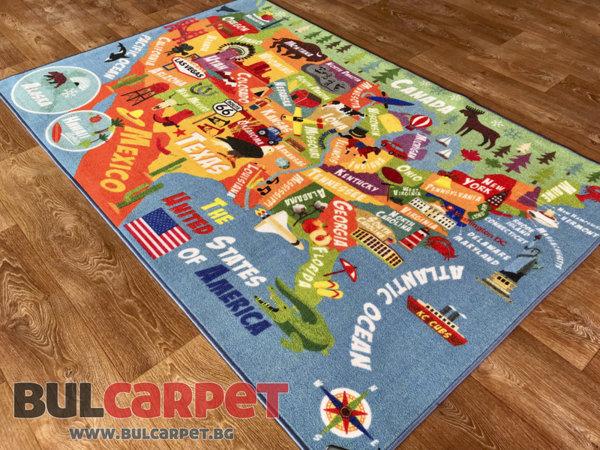детски килим америка